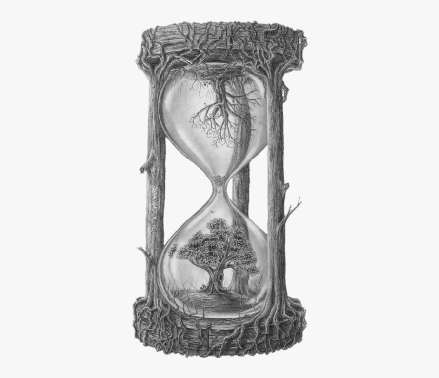 Hourglass Freetoedit - Meaningful Life And Death Drawings, Transparent Clipart