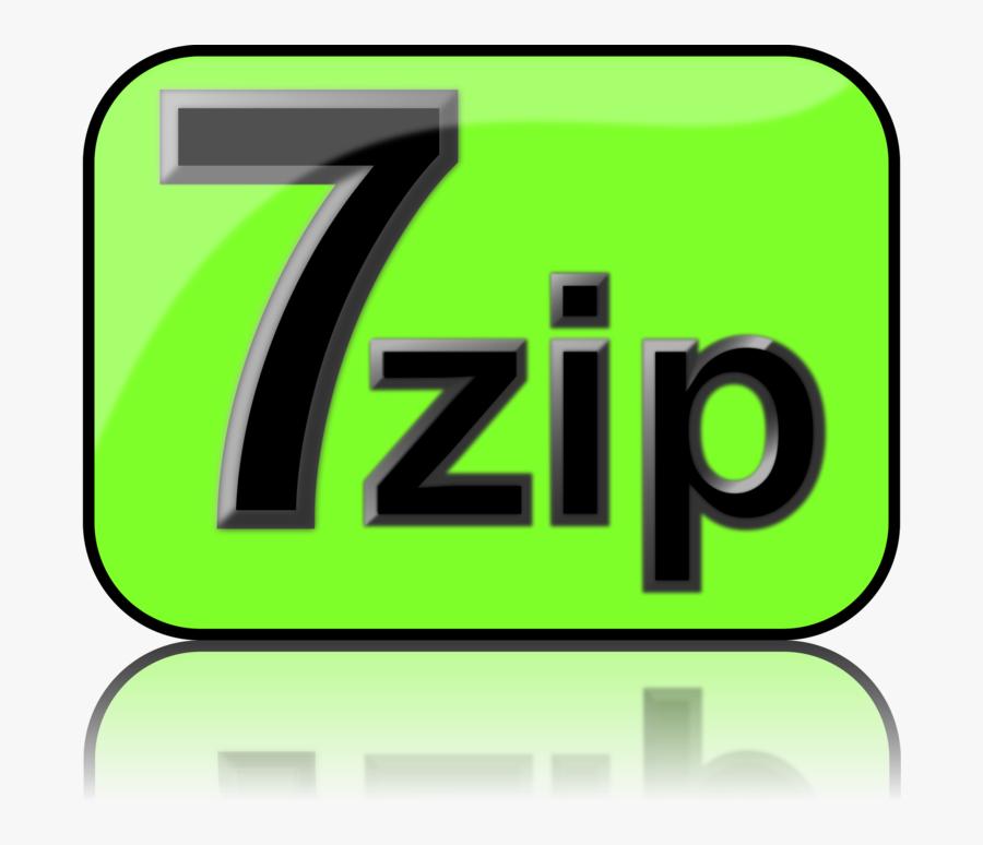 7 Zip File Archiver Computer Icons 7z - 7-zip, Transparent Clipart