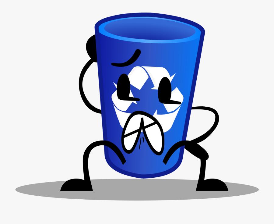 Recycling Bin Png - Recycling Bin Object Terror, Transparent Clipart