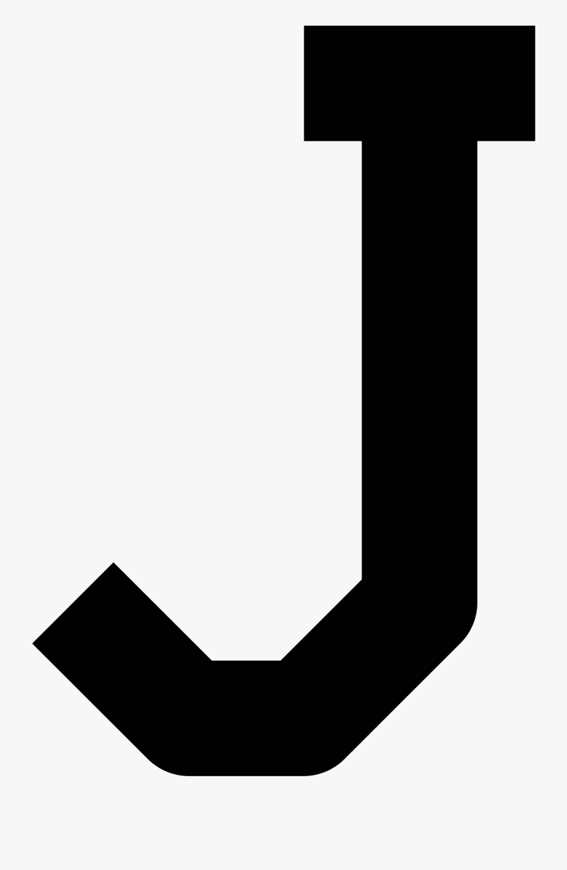 Clip Art Free Icon Download Icons - Letter J Transparent Background, Transparent Clipart