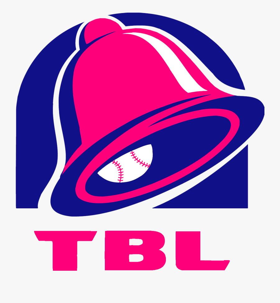 Taco Bell League - Big Taco Bell Logo, Transparent Clipart