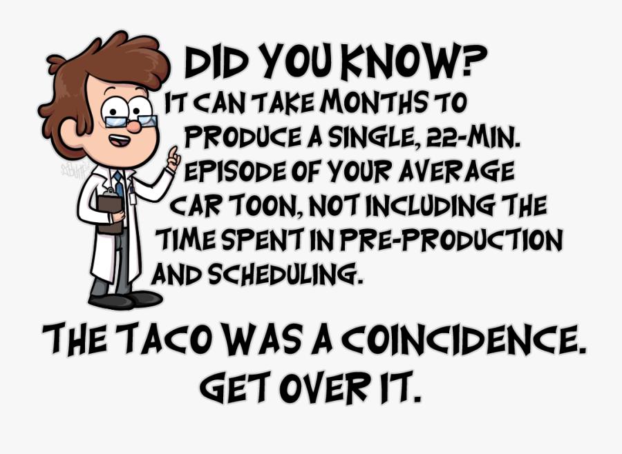 Dipper Goes To Taco Bell - Dipper Goes To Taco Bell Meme, Transparent Clipart