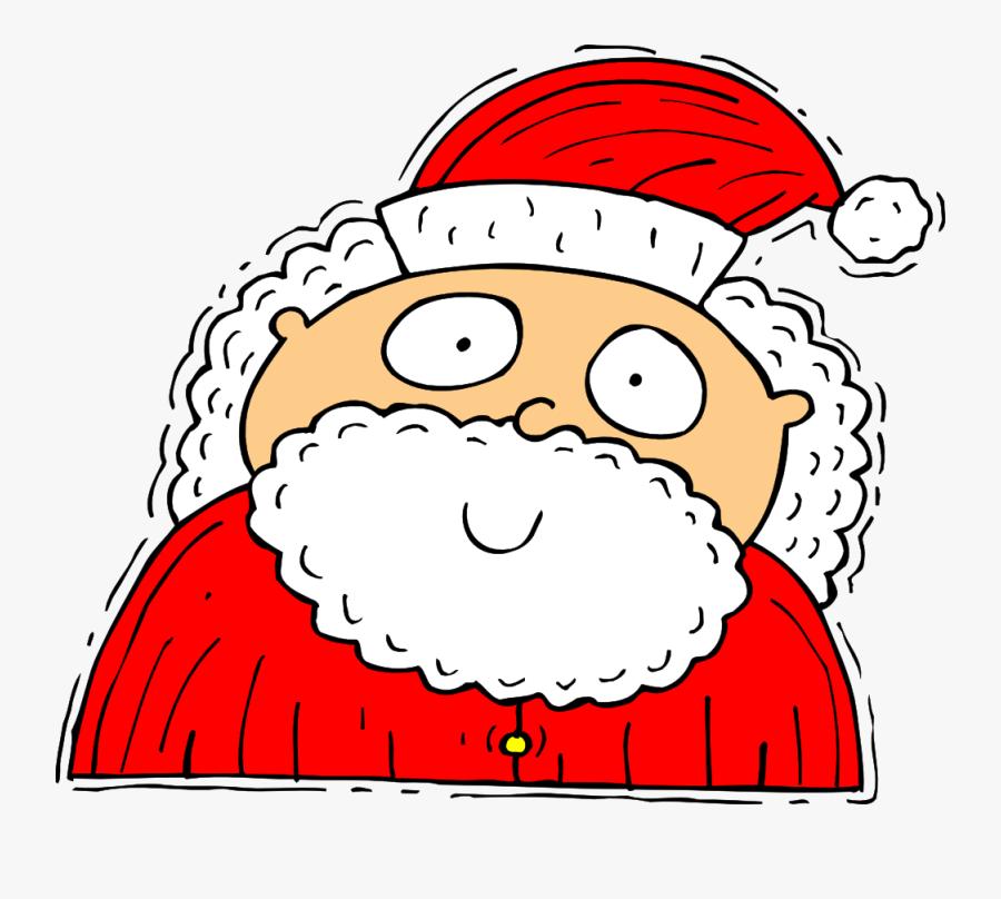 Vector Santa Illustrator - Clip Art, Transparent Clipart