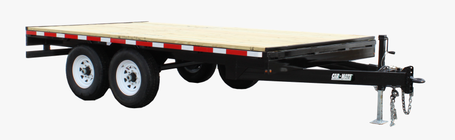 Deck Over Wheel Ball Pull - Carmate Deckover Trailer, Transparent Clipart