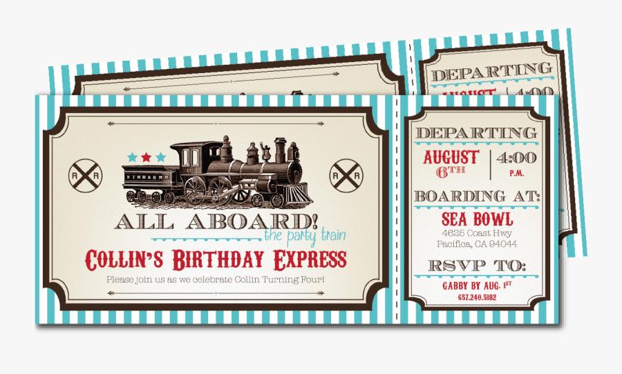 Clip Art Vintage Train Blackline - Railroad Car, Transparent Clipart