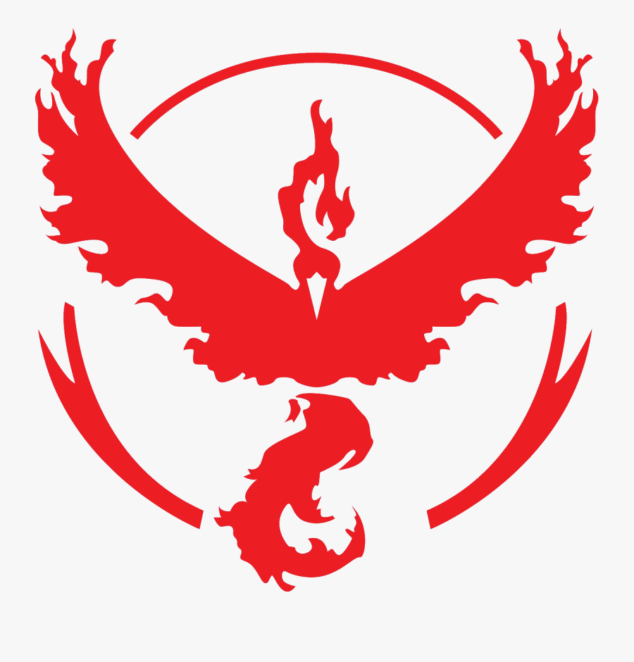 50, 13 July - Pokemon Go Red Team, Transparent Clipart