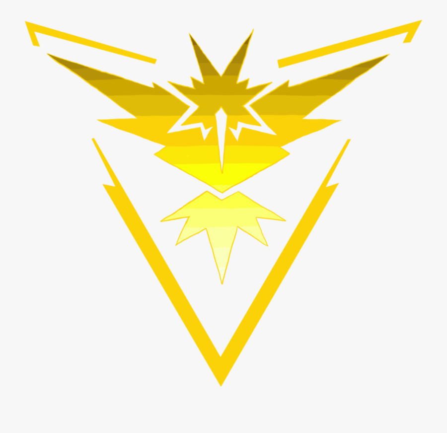 Team Instinct Logo Png - Pokemon Go Team Instinct Logo, Transparent Clipart