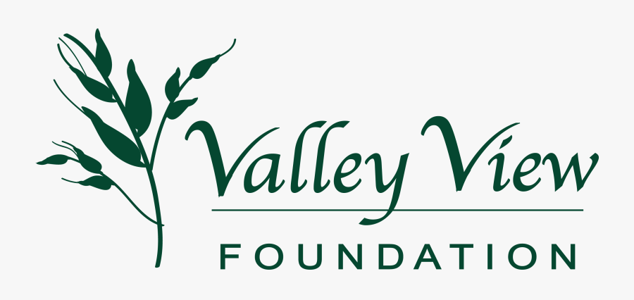 Valley View Foundation - Calligraphy, Transparent Clipart