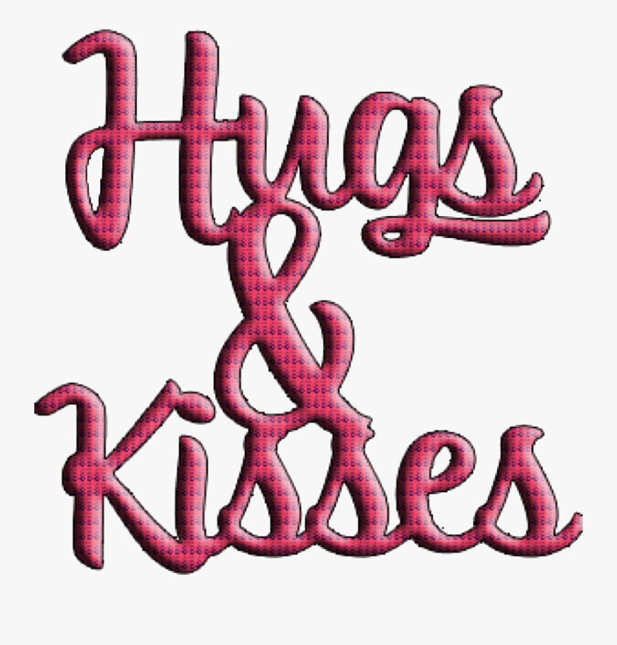 #sfghandmade #freetoedit #stickers #hugs #kisses #red, Transparent Clipart