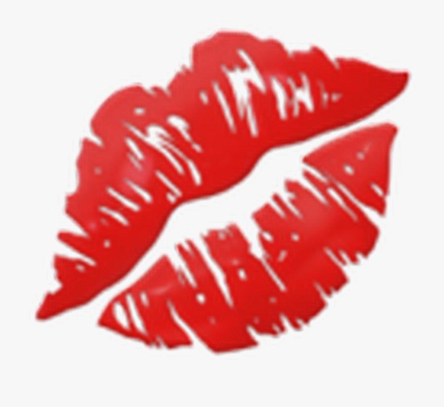 Kiss Emoji, Transparent Clipart