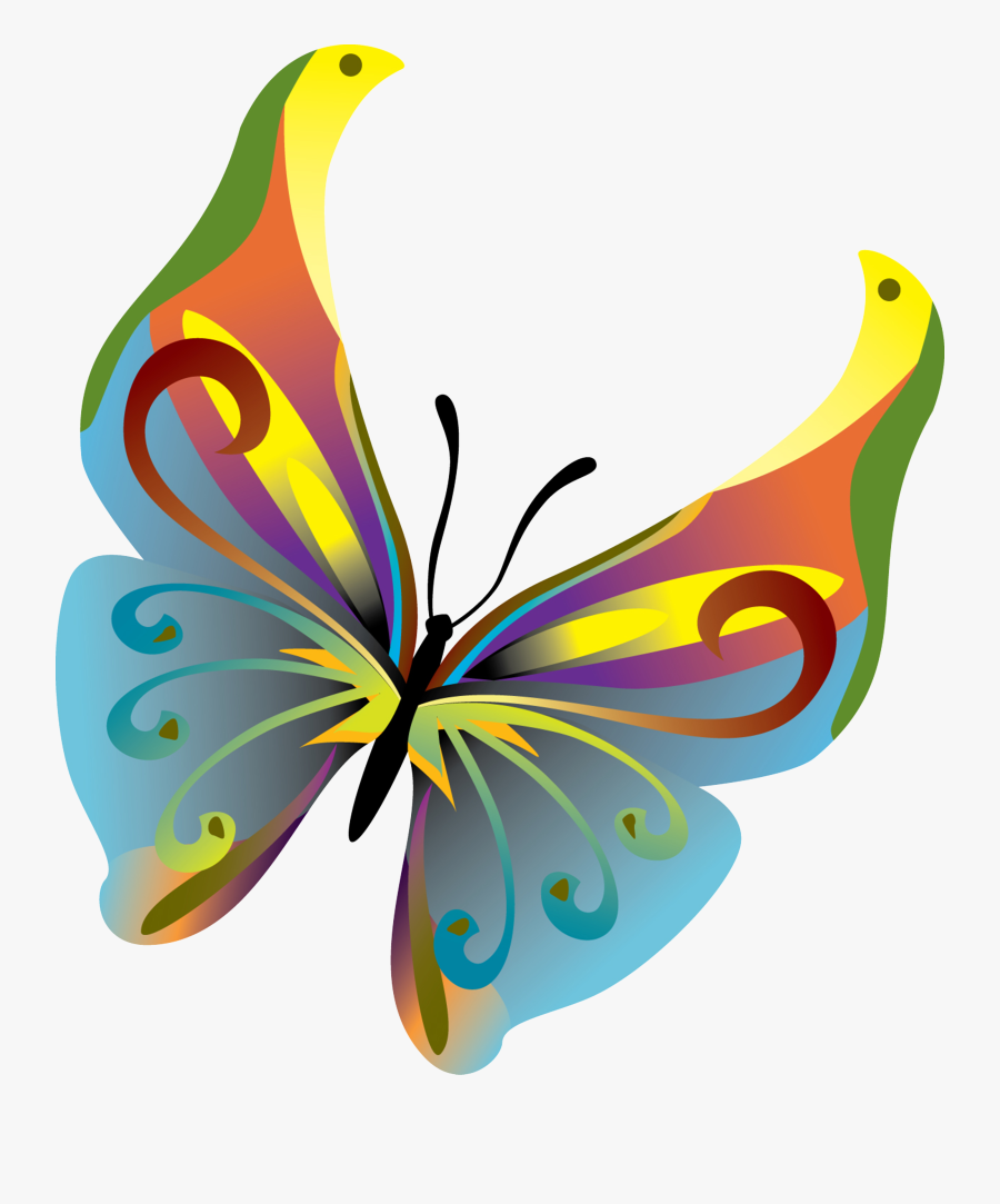 Monarch Butterfly Insect Clip Art - Butterfly Vector, Transparent Clipart