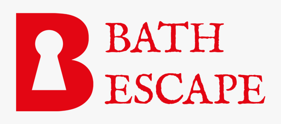 Transparent Escape Clipart - Bath Escape Room, Transparent Clipart