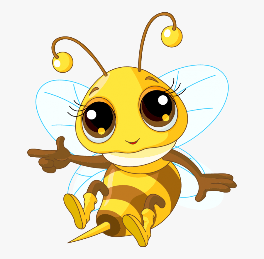 Lady Bumble Bee Cartoon Clipart , Png Download - Bee's Knees, Transparent Clipart