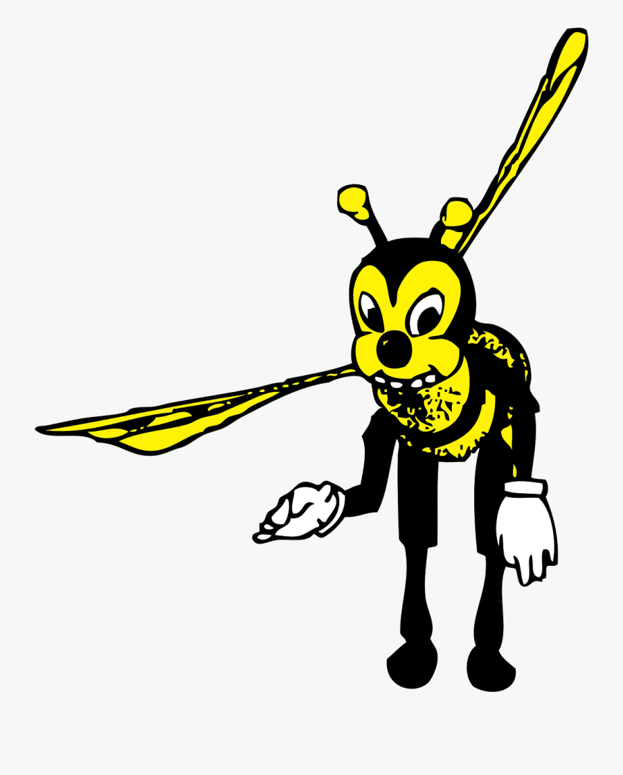 Honey Bee Bumblebee Bee Free Picture - Bowing Bee, Transparent Clipart