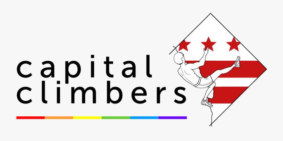 Dc Capital Climbers Logo, Transparent Clipart