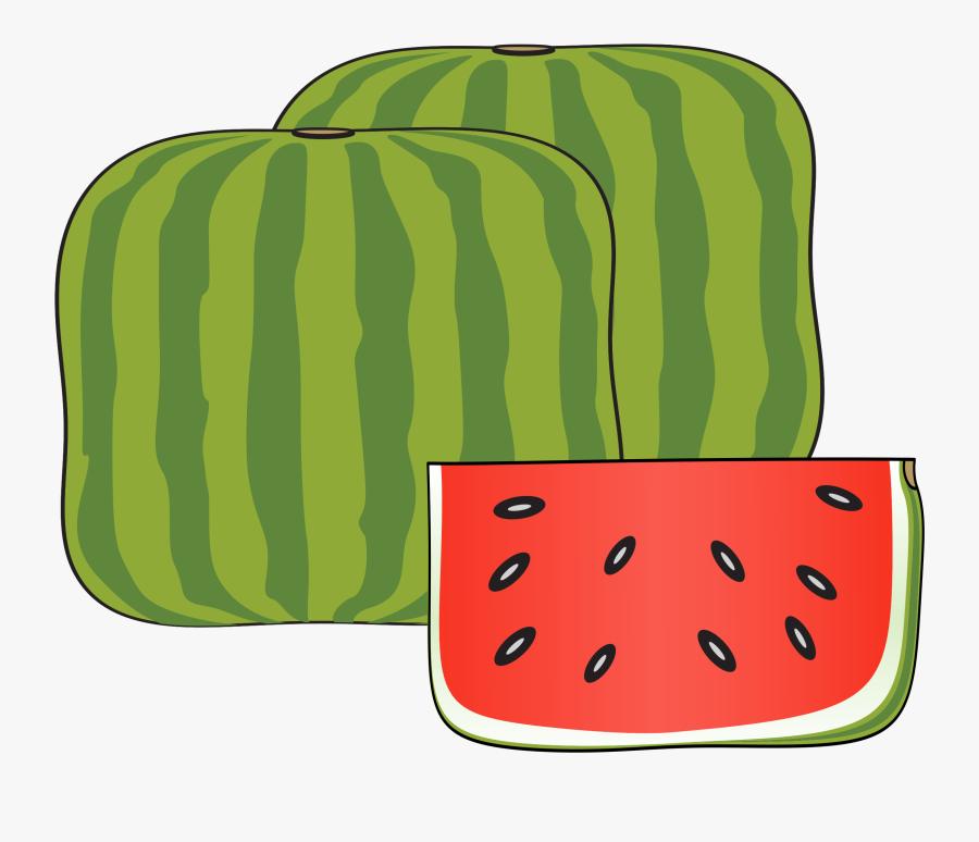 Citrullus,food,plant - Watermelon, Transparent Clipart