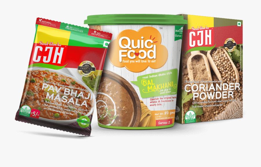 Vinayak Foods Group, Quicfood, Cjh, Best Ready To Eat - Vinayak Foods, Transparent Clipart