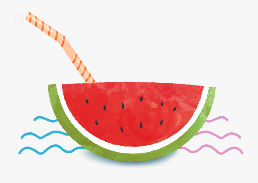 Transparent Watermelon Emoji Png - Transparent Watermelon Watercolor Png, Transparent Clipart