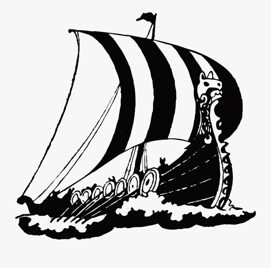 Clip Art Vienna Wall Decal Sticker - Viking Ship Drawings, Transparent Clipart
