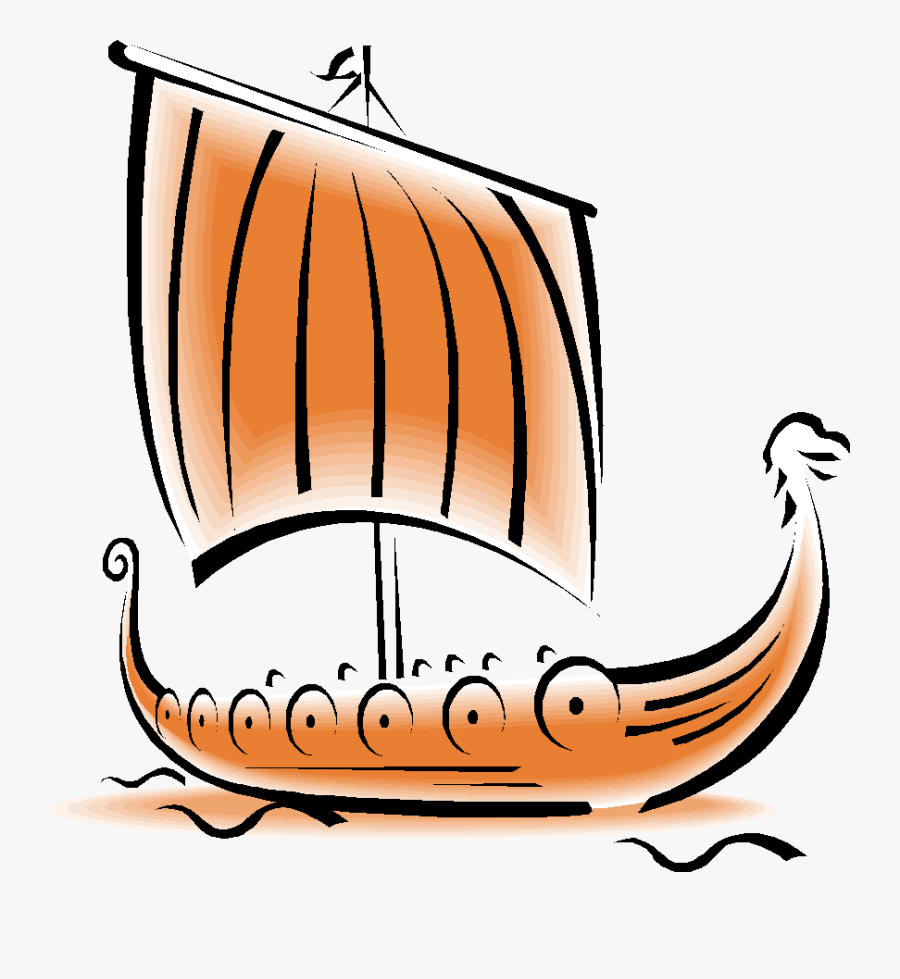 Viking Ship Burials - Viking Ships, Transparent Clipart