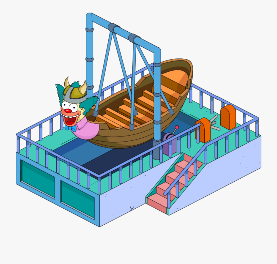 Viking Ship Ride Png, Transparent Clipart