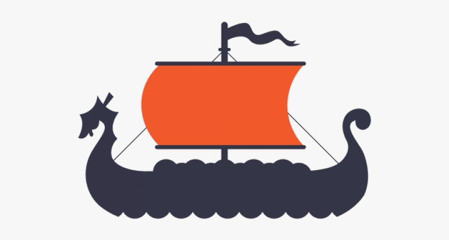 Viking Ship Clip Art, Transparent Clipart