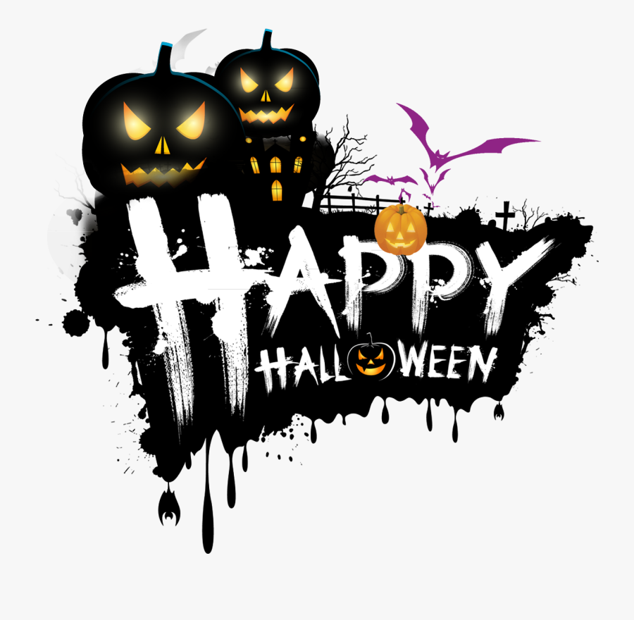 Halloween Tree Happy,halloween The Holiday Happy Clipart - Happy Halloween Png Transparent, Transparent Clipart