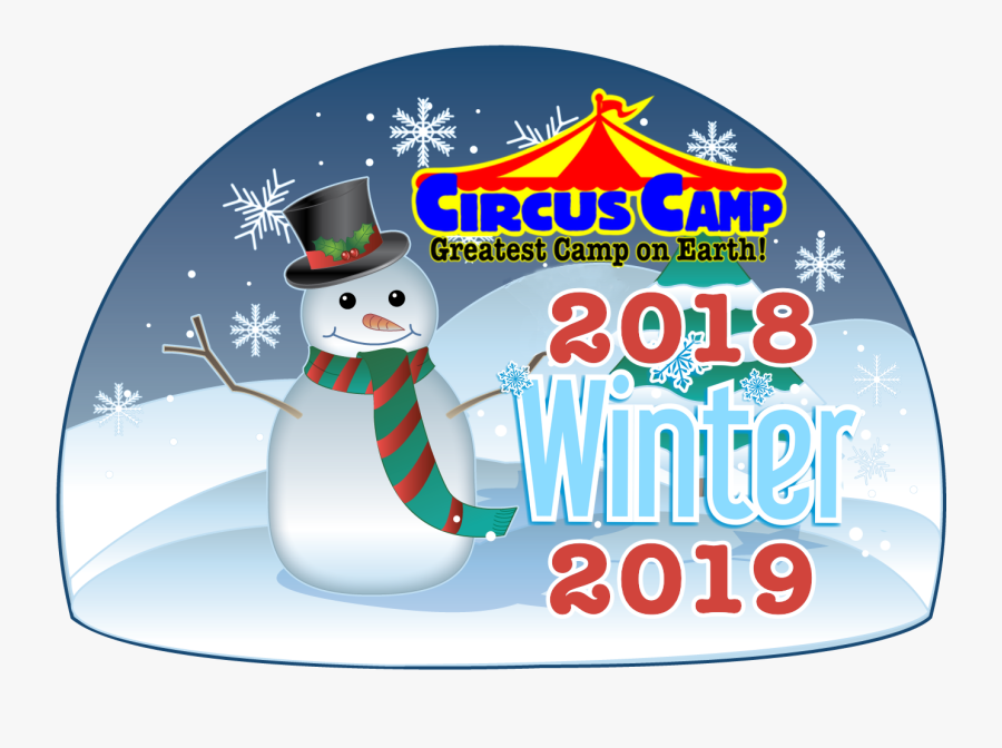 Circus Holiday Camp - Winter Season Clipart Snowman, Transparent Clipart