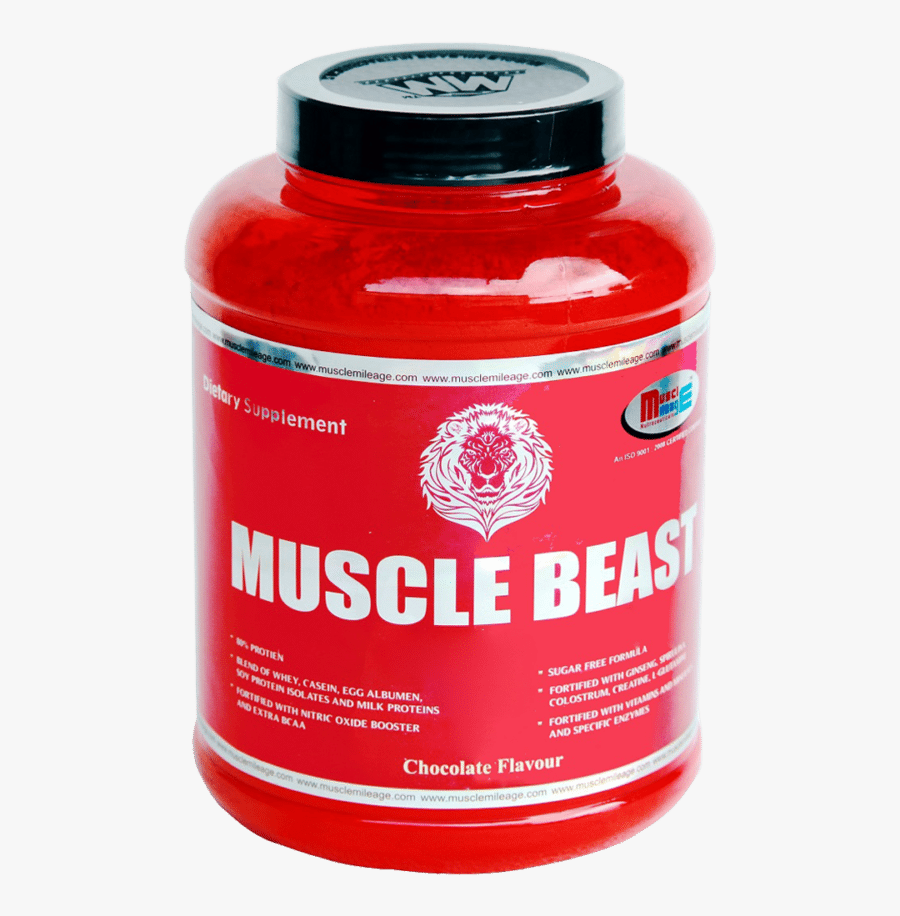 Mussel Beast Clipart - Muscle Beast Protein, Transparent Clipart