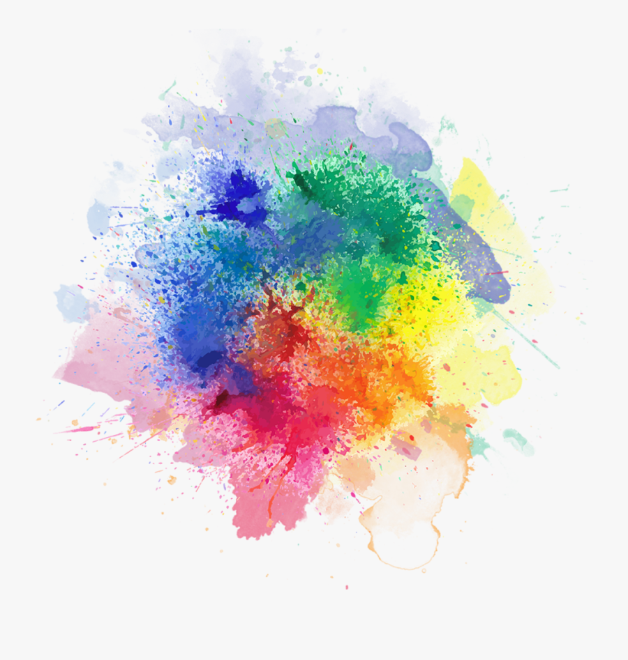 - Watercolor Color Splash Png - Transparent Color Smoke Png, Transparent Clipart
