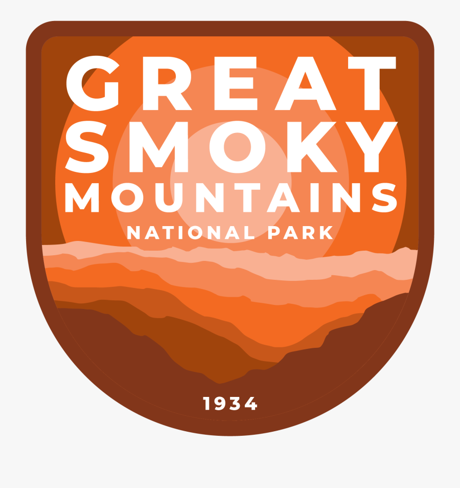 Great Smoky Mountains National Park Sticker Png, Transparent Clipart