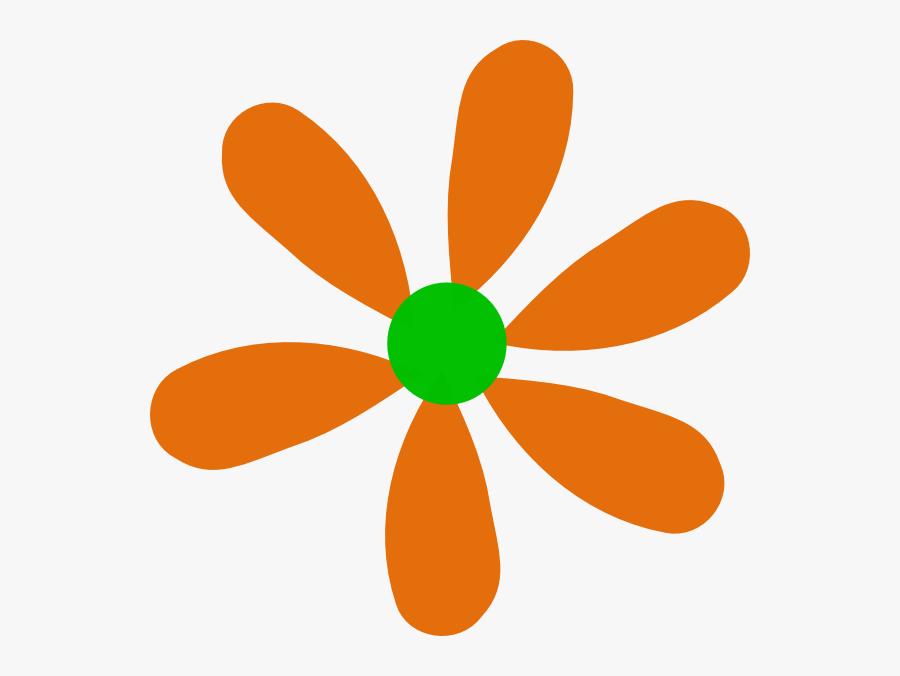 Green And Orange Clker, Transparent Clipart