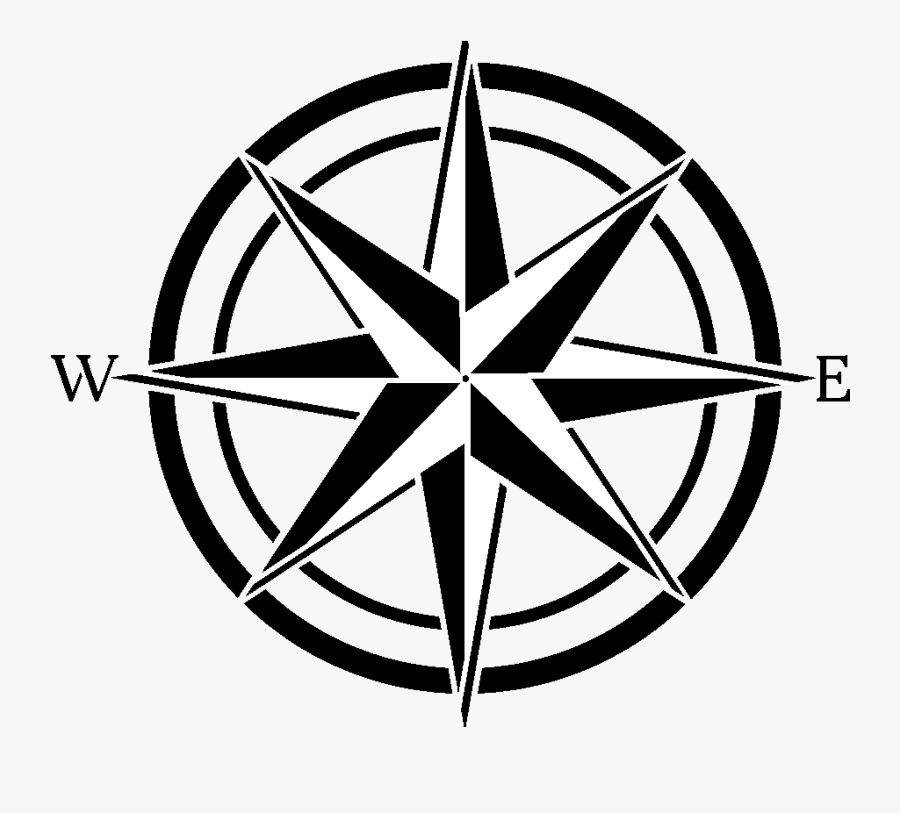 Compass Personality Team Building Activity, Transparent Clipart