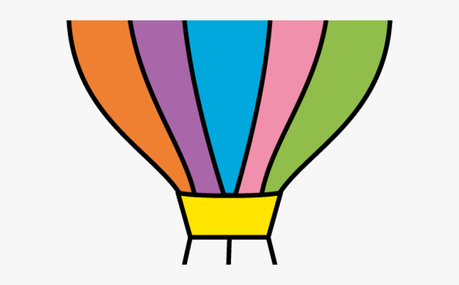 Transparent Parachute Clipart - Air Balloon Clipart Png Gif, Transparent Clipart