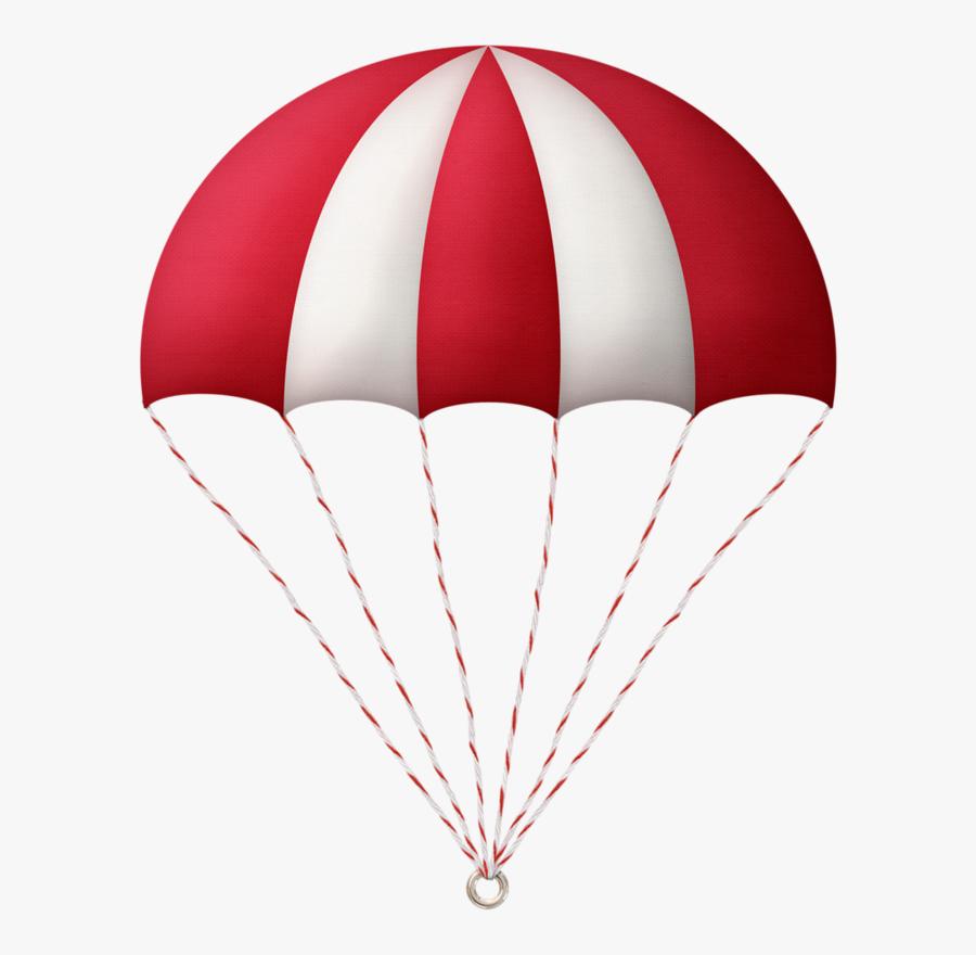 Parachute Clipart Pdf , Png Download - Transparent Background Parachute Clipart, Transparent Clipart