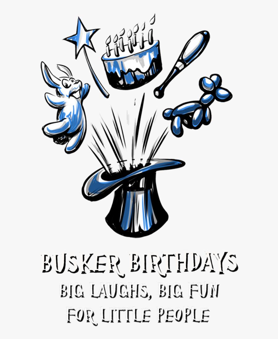 Bbdayslogo - Busker Birthdays, Transparent Clipart