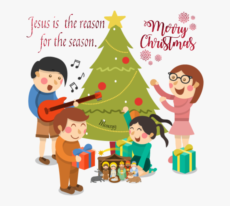 #christmas Jesus Nativity - Familia Imagenes De Navidad, Transparent Clipart