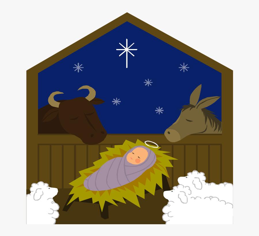 Nativity Story Slide Show, Transparent Clipart