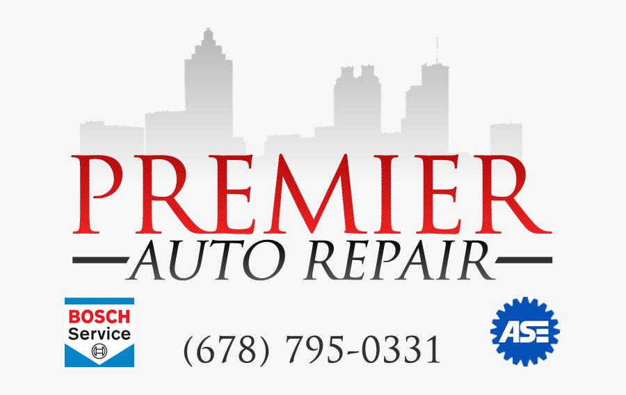 Premier Auto Repair - Bosch Car Service, Transparent Clipart