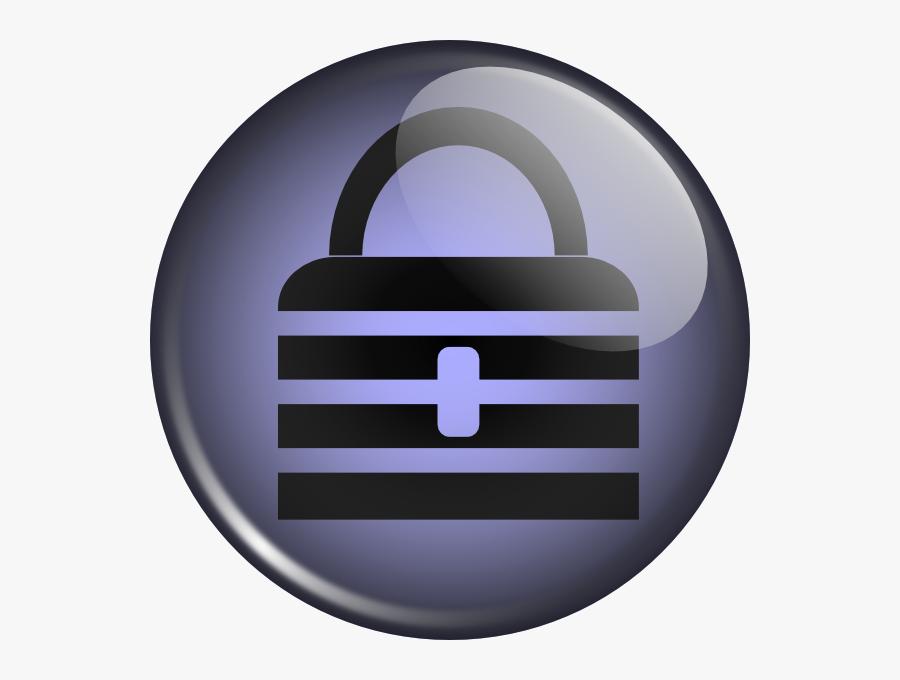 Free Vector Coredump Keepass Dock Icon Clip Art - Keepass Png Icon, Transparent Clipart