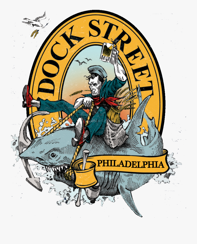 Dock Street Brewery Logo, Transparent Clipart