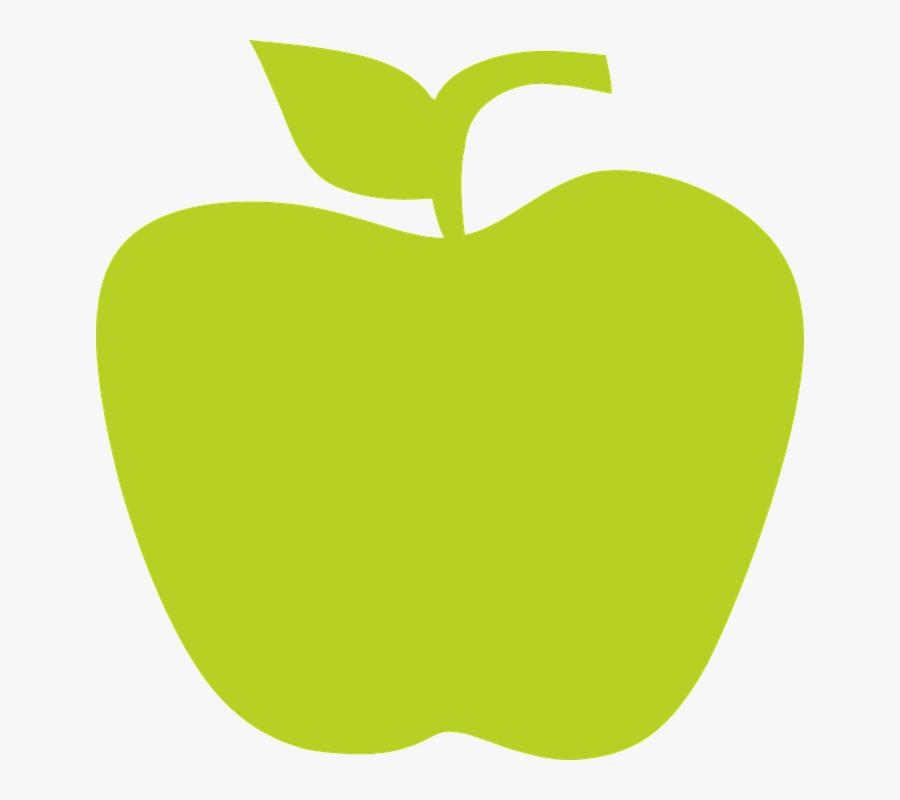Apple, Fruit, Apples, Green Apple, Green - Zielone Jabłko Png, Transparent Clipart