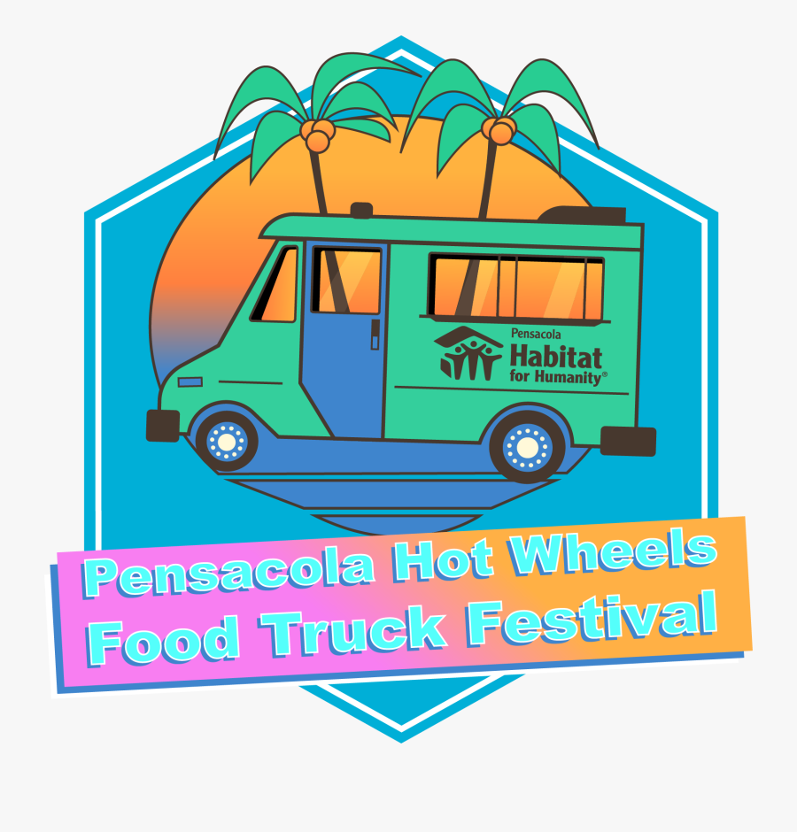 Food Truck Festival Pensacola, Transparent Clipart