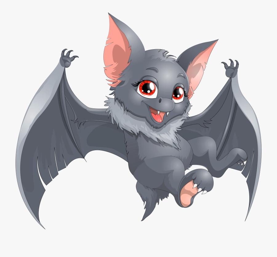 Bat Cartoon Image - Cartoon Bat Png, Transparent Clipart