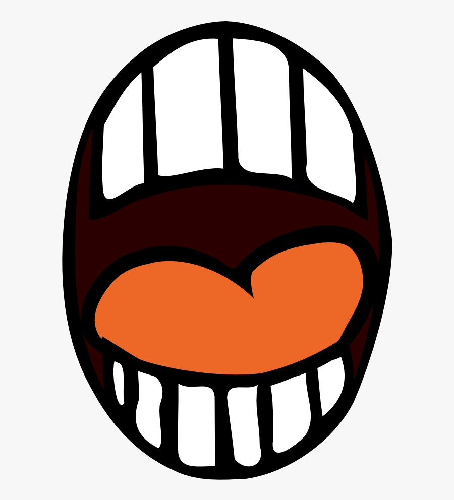 Clipart Of Quiet, Quite And Mg - Cartoon Open Mouth Png, Transparent Clipart
