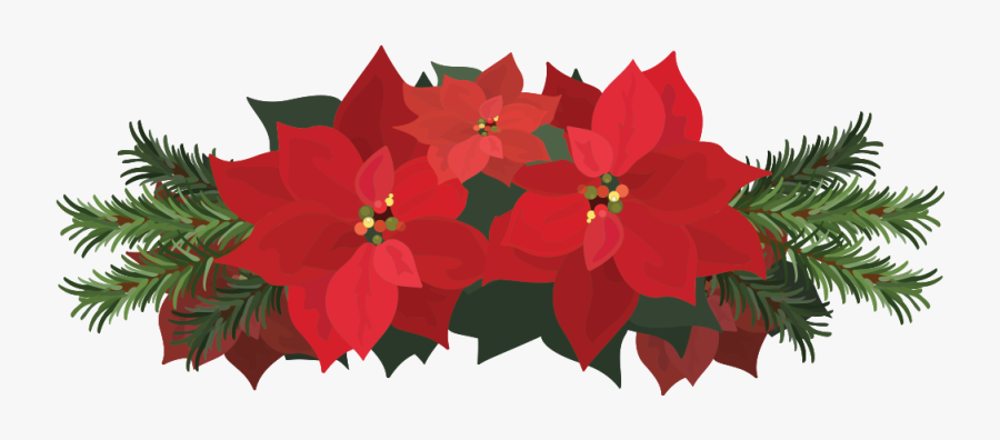 This Is A Sticker Of A Poinsettia Flower Poinsettia Free Transparent Clipart Clipartkey