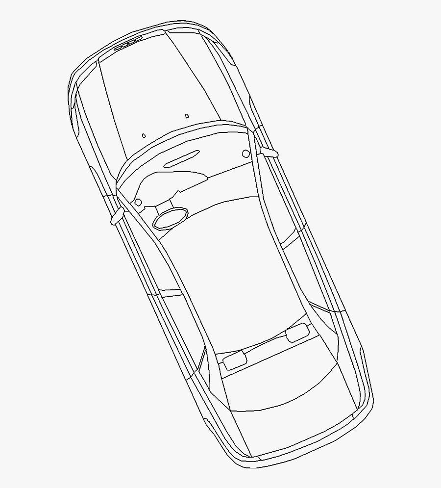 Car At Getdrawings - Car Drawing Top View, Transparent Clipart