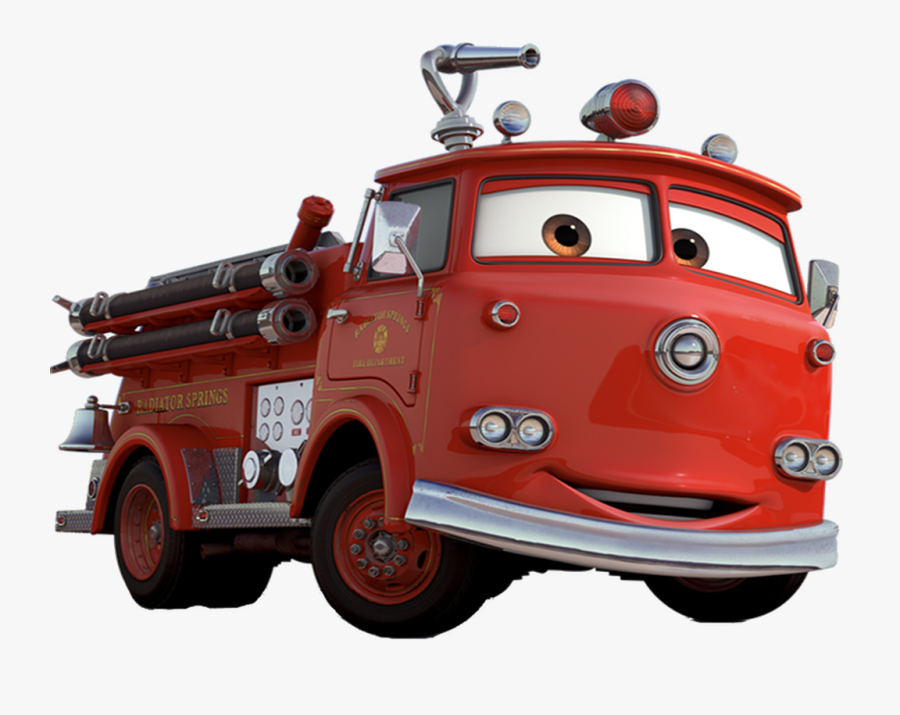 Cars Clipart Fire - Disney Cars Characters, Transparent Clipart
