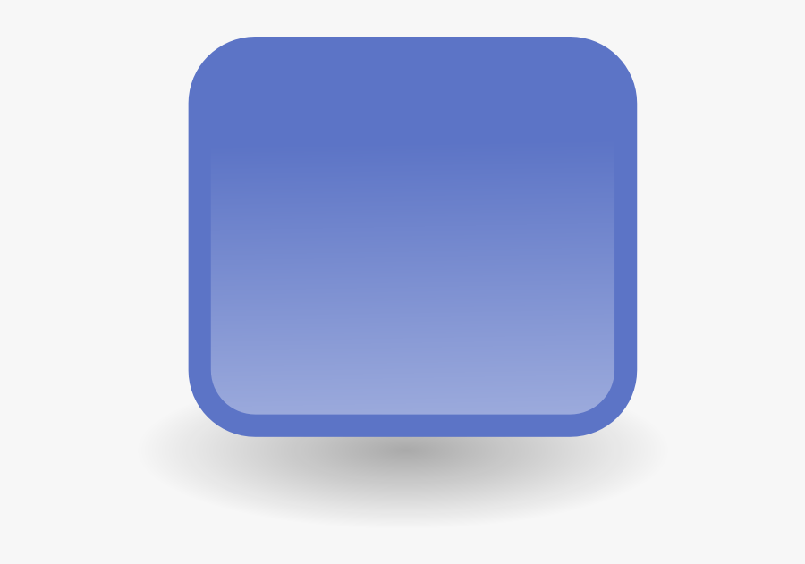 Fade Blue Square Clipart - Blue Square Small Icon, Transparent Clipart