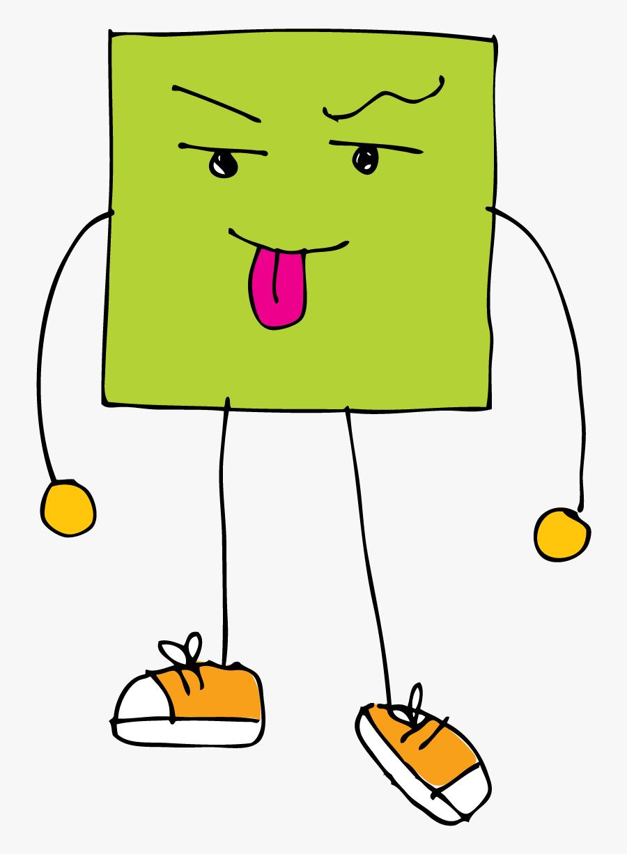 Credit To Kpm Doodles - Square Shape Picture Clip Art For Kg, Transparent Clipart